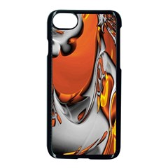 Special Fractal 24 Terra Apple Iphone 7 Seamless Case (black) by ImpressiveMoments