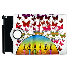 African Americn Art African American Women Apple Ipad 2 Flip 360 Case by AlteredStates