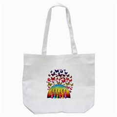 African Americn Art African American Women Tote Bag (white) by AlteredStates