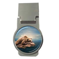 Bear Water Money Clips (round)