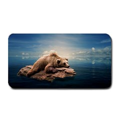 Bear Water Medium Bar Mats by AnjaniArt