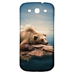 Bear Water Samsung Galaxy S3 S Iii Classic Hardshell Back Case by AnjaniArt
