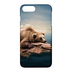 Bear Water Apple Iphone 7 Plus Hardshell Case by AnjaniArt