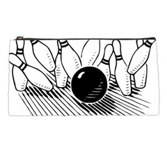 Bowling Ball Sport Pencil Cases by AnjaniArt