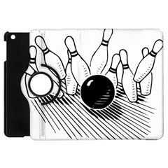 Bowling Ball Sport Apple Ipad Mini Flip 360 Case by AnjaniArt