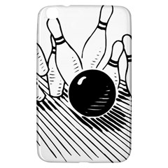 Bowling Ball Sport Samsung Galaxy Tab 3 (8 ) T3100 Hardshell Case  by AnjaniArt