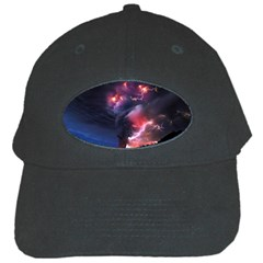 Volcano Lightning Wallpapers Flash Strom Black Cap by AnjaniArt
