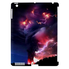 Volcano Lightning Wallpapers Flash Strom Apple Ipad 3/4 Hardshell Case (compatible With Smart Cover) by AnjaniArt