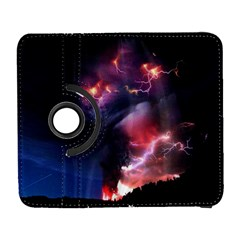 Volcano Lightning Wallpapers Flash Strom Samsung Galaxy S  Iii Flip 360 Case by AnjaniArt
