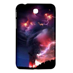 Volcano Lightning Wallpapers Flash Strom Samsung Galaxy Tab 3 (7 ) P3200 Hardshell Case  by AnjaniArt