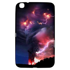 Volcano Lightning Wallpapers Flash Strom Samsung Galaxy Tab 3 (8 ) T3100 Hardshell Case  by AnjaniArt
