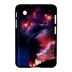 Volcano Lightning Wallpapers Flash Strom Samsung Galaxy Tab 2 (7 ) P3100 Hardshell Case  by AnjaniArt