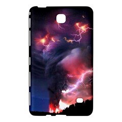Volcano Lightning Wallpapers Flash Strom Samsung Galaxy Tab 4 (8 ) Hardshell Case  by AnjaniArt