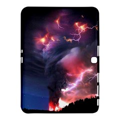 Volcano Lightning Wallpapers Flash Strom Samsung Galaxy Tab 4 (10 1 ) Hardshell Case  by AnjaniArt