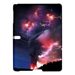 Volcano Lightning Wallpapers Flash Strom Samsung Galaxy Tab S (10 5 ) Hardshell Case  by AnjaniArt