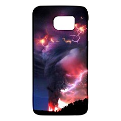 Volcano Lightning Wallpapers Flash Strom Samsung Galaxy S6 Hardshell Case  by AnjaniArt