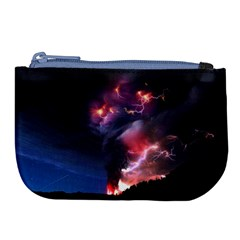 Volcano Lightning Wallpapers Flash Strom Large Coin Purse