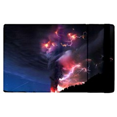 Volcano Lightning Wallpapers Flash Strom Ipad Mini 4 by AnjaniArt