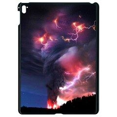 Volcano Lightning Wallpapers Flash Strom Apple Ipad Pro 9 7   Black Seamless Case by AnjaniArt