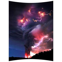 Volcano Lightning Wallpapers Flash Strom Back Support Cushion by AnjaniArt