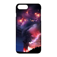 Volcano Lightning Wallpapers Flash Strom Apple Iphone 8 Plus Hardshell Case by AnjaniArt