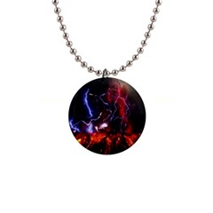 Volcanic Lightning Eruption Button Necklaces