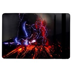 Volcanic Lightning Eruption Ipad Air Flip