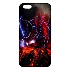 Volcanic Lightning Eruption Iphone 6 Plus/6s Plus Tpu Case by AnjaniArt