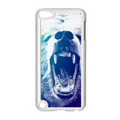 Bear Grizzly Wallpaper Apple Ipod Touch 5 Case (white)
