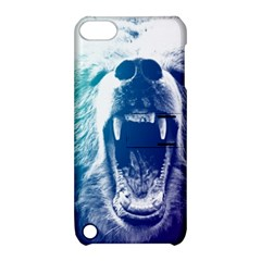 Bear Grizzly Wallpaper Apple Ipod Touch 5 Hardshell Case With Stand