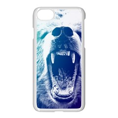 Bear Grizzly Wallpaper Apple Iphone 8 Seamless Case (white)