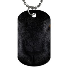 Face Black Eye Cat Dog Tag (two Sides) by AnjaniArt