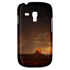 Desert Lighting Strom Flash Samsung Galaxy S3 Mini I8190 Hardshell Case by AnjaniArt