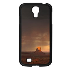 Desert Lighting Strom Flash Samsung Galaxy S4 I9500/ I9505 Case (black) by AnjaniArt