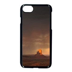 Desert Lighting Strom Flash Apple Iphone 8 Seamless Case (black) by AnjaniArt