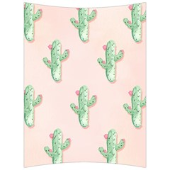 Green Cactus Pattern Back Support Cushion