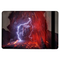 Fire Volcano Lightning Montain Wallpapers Ipad Air Flip by AnjaniArt