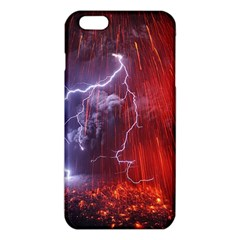 Fire Volcano Lightning Montain Wallpapers Iphone 6 Plus/6s Plus Tpu Case