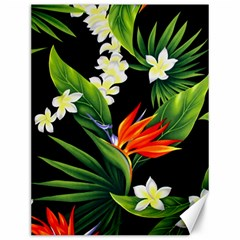 Frangipani Flower Canvas 12  X 16  by AnjaniArt