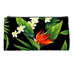 Frangipani Flower Pencil Cases by AnjaniArt