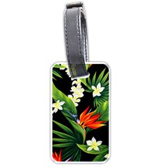 Frangipani Flower Luggage Tags (two Sides) by AnjaniArt