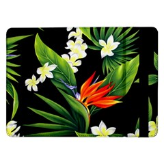 Frangipani Flower Samsung Galaxy Tab Pro 12 2  Flip Case by AnjaniArt