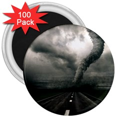 Hurricane 3  Magnets (100 Pack) by AnjaniArt