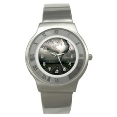 Hurricane Stainless Steel Watch