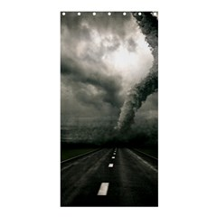 Hurricane Shower Curtain 36  X 72  (stall)  by AnjaniArt