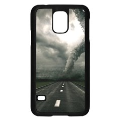 Hurricane Samsung Galaxy S5 Case (black) by AnjaniArt