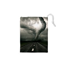 Hurricane Drawstring Pouch (xs) by AnjaniArt