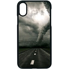 Hurricane Apple Iphone X Seamless Case (black) by AnjaniArt