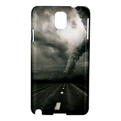 Hurricane Samsung Galaxy Note 3 N9005 Hardshell Case by AnjaniArt
