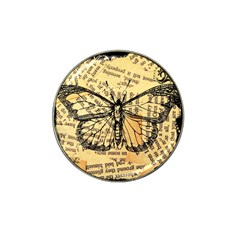 Vintage Butterfly Art Antique Hat Clip Ball Marker